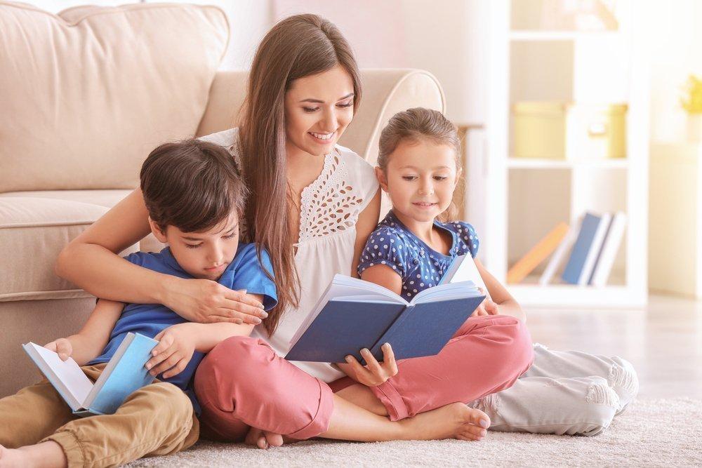 Картинки читают детям